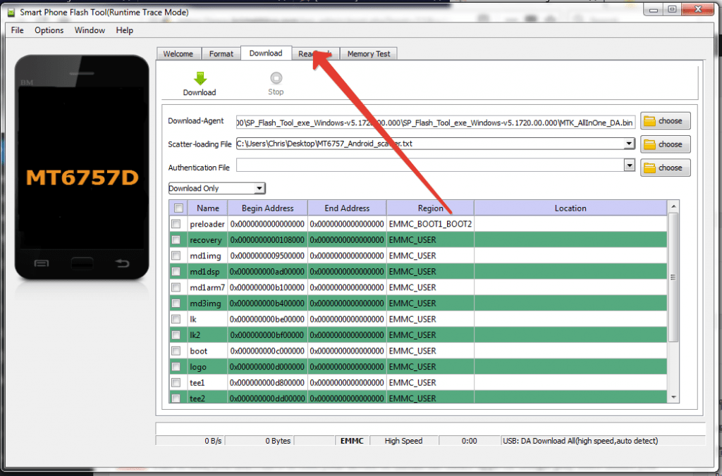 How To Backup MTK Android Firmware Via SP Flashtool - iFindHub